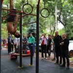 Светлозар Савов съдийства първи турнир по стрийт фитнес в Русе
