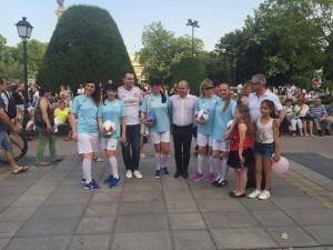 Русенски Карнавал 2016 - екипът на кмета Пламен Стоилов