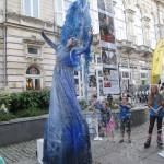 Живи статуи гостуват в Русе този уикенд