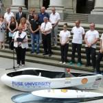 Жена ще пилотира русенския автомобил на Shell eco-marathon  в Лондон