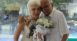 Русенско семейство поднови брачни клетви след 65 години съвместен живот