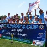 """Златни медали от силен турнир за 8-годишните футболисти на """"Дунав"""""""