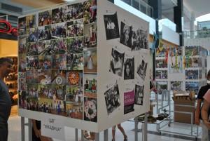 Изложбата представи незабравими моменти, изживяни от децата и техните родители