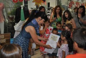 Своето зелено приключение запечатаха в изложба деца и родители