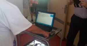 В 3 отделения на УМБАЛ-Русе болните вече се регистрират с пръст
