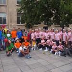 С мащабен флашмоб в Русе отбелязаха Международния ден на младежта