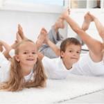 Открит урок  по акробатика и йога днес за деца и родители