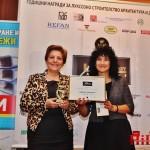 Отличиха общински проекти в София, Бургас и Мирково със Строителни Оскари