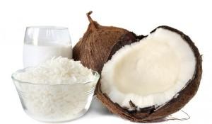 Кокосово масло - лауринова киселина.