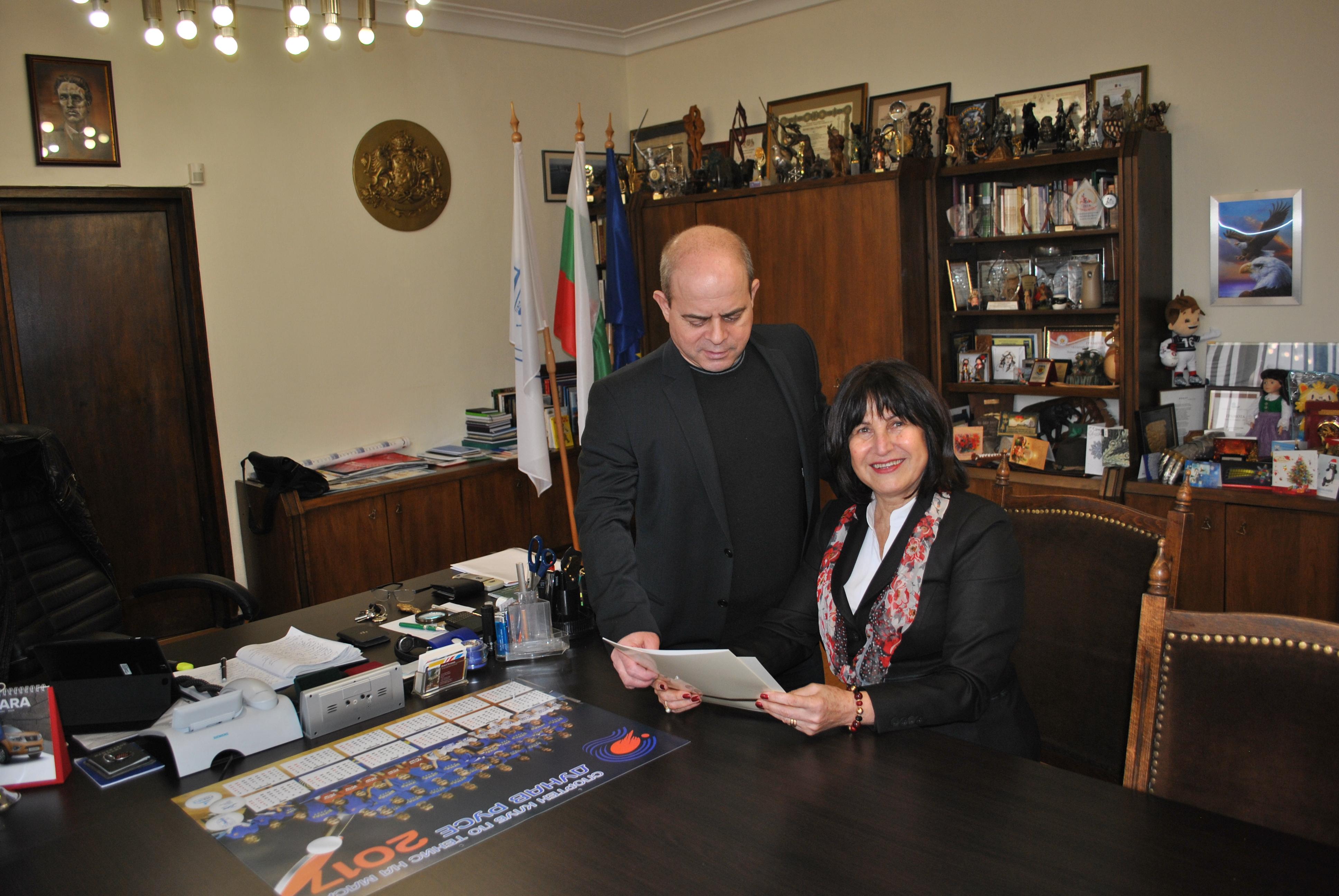 Photo of Районният кооперативен съюз – Русе отличен за успешна стопанска дейност