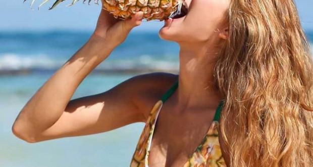 Подмладете гърдите си с ананас