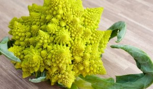 Романеско броколи - помага да възстановите вкуса си.