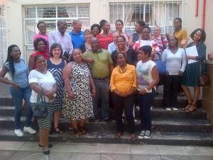 С обучаваните специалисти от ЮАР