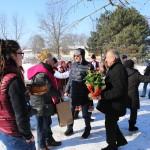 Цар и царица на лозята си избраха в русенското село Екзарх Йосиф на Зарезан
