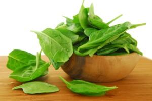Спанакът е един от зеленчуците с най-висока хранителна стойност.