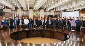 """Футболен клуб """"дунав"""" на среща с кмета Стоилов"""