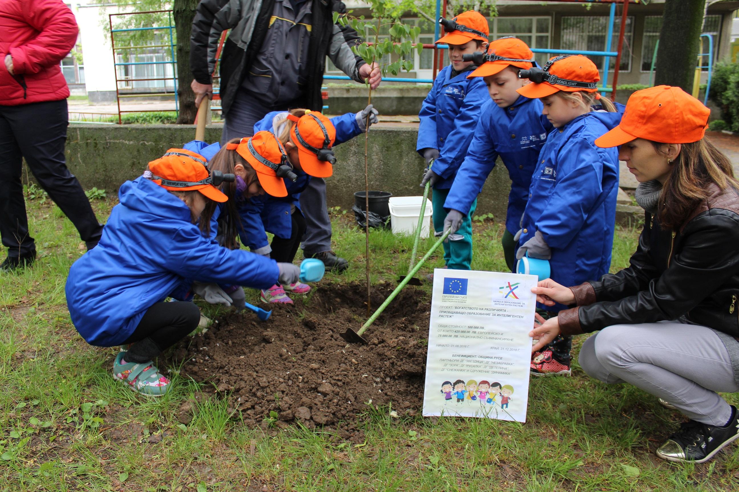 Photo of Малчугани от детски градини участваха в зелена мисия