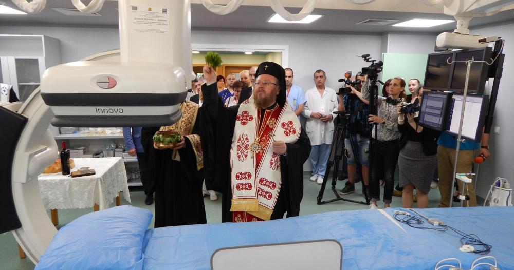 Photo of Кардиологичното отделение в УМБАЛ-Русе с високотехнологичен ангиографски апарат