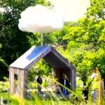 Американец създаде изкуствен облак в градината си