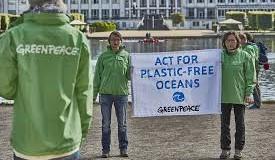 """""""Грийнпийс"""" и """"За Земята"""" се борят с глобалното замърсяване"""
