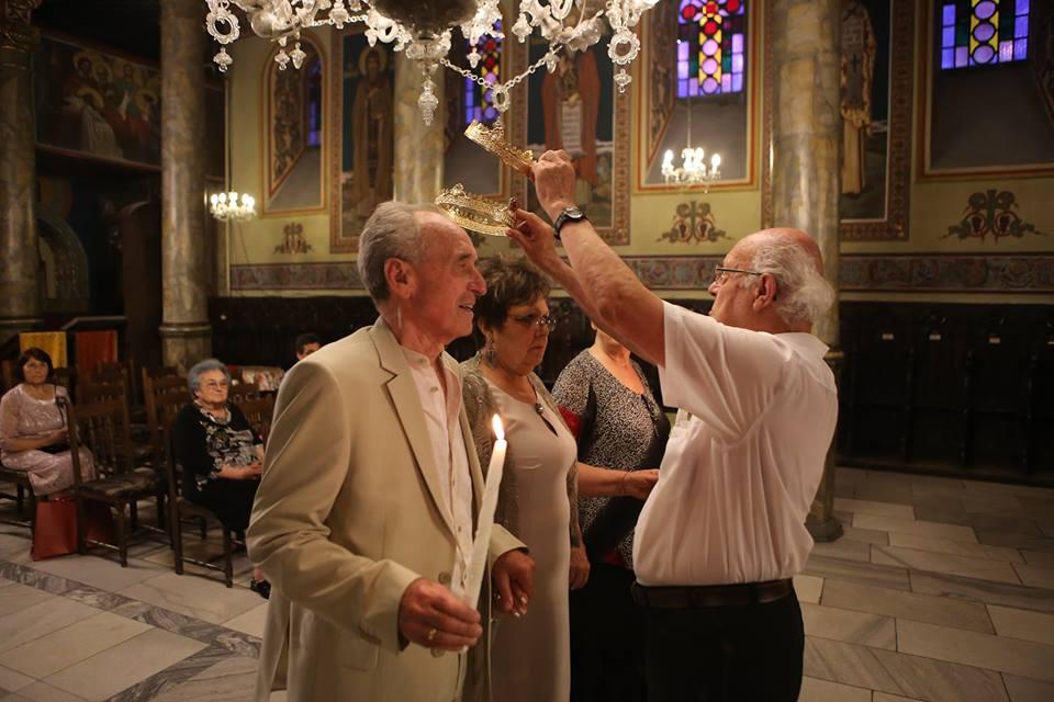Photo of Семейство от Русе отпразнува златна сватба с венчавка в храма