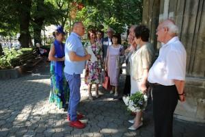 Пламен Нунев връчва поздравителен адрес от името на премиера Бойко Борисов