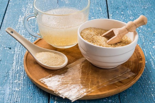 Желето се произвежда от желатин.