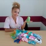 Плетени октоподчета ще помагат на недоносени бебета