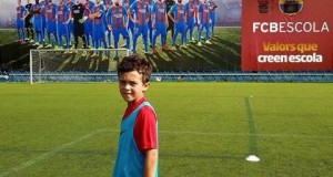 9-годишен талант, участвал в Campus Barcelona, започва тренировки в Барса