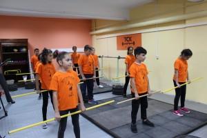 """В СУ """"Йордан Йовков"""" днес беше открита нова спортна зала по вдигане на тежести на Тежкоатлетически спортен клуб """"Русе""""."""