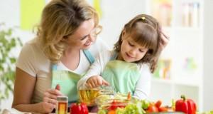 Зеленчуците и децата