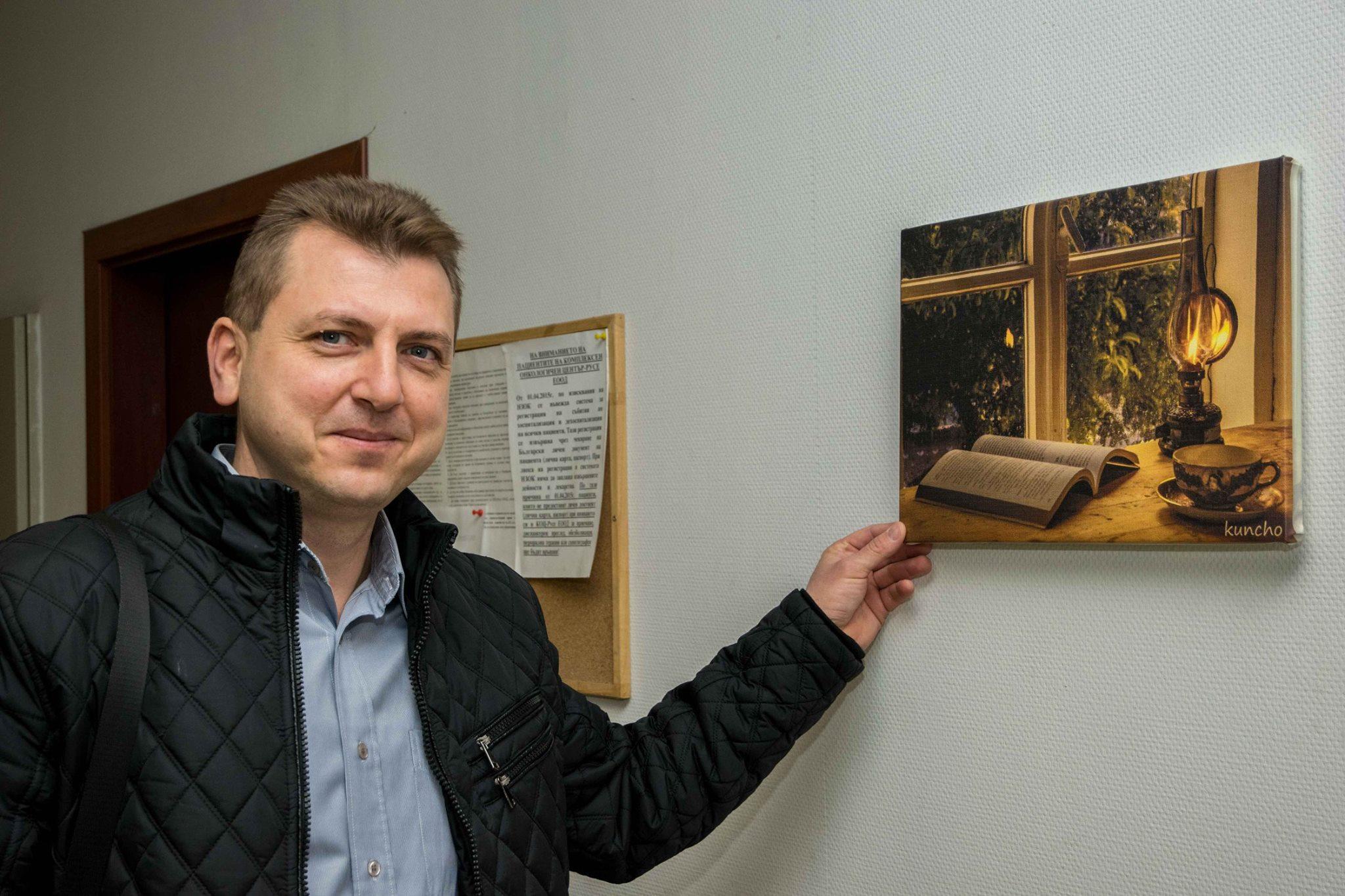 Photo of 13 фотографии на Кунчо Кунчев разведряват пациентите в Онкото