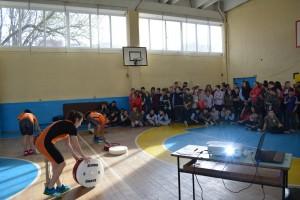 """Вече е факт и новата зала по вдигане на тежести в училище """"Васил Левски"""", реализирана със съвместните усилия на Ученическа спортна школа и ТСК Русе"""