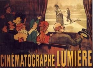 """Днес отбелязваме Международния ден на киното, тъй като на 28 декември 1895 г. в парижкото """"Гран кафе"""" се състои първата публична демонстрация на """"движещи се фотографии""""."""
