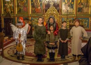 """Малки актьори разиграха Притча за Прошката в храм """"Света Троица"""""""