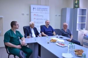 Проф. Хаджийски е един от първите хабилитирани лекари в България по специалност пластична хирургия