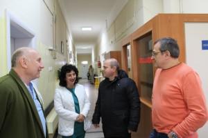 Кметът Пламен Стоилов посети отделението