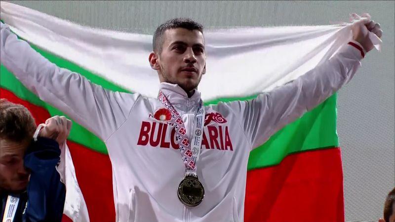 Стилиян Гроздев е вицеевропейски шампион по вдигане на тежести