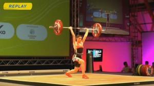 Русенката Виктория Станева се класира на пето място на продължаващото в момента в Италия Европейско първенство по вдигане на тежести.