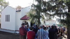 Откриването на храма преди година в село Прилеп