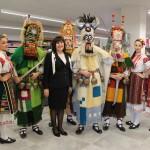 С кукери и народни танци откриха нов търговски обект в Басарбово