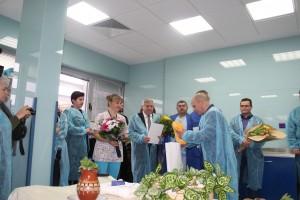 Кметът Пламен Стоилов уважи празника и в двете отделения