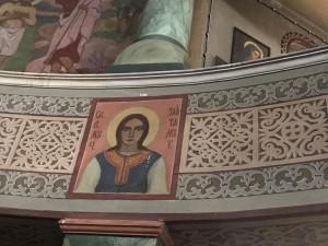 Икона на Света Злата Мъгленска се среща рядко в храмовете