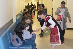 Баба Марта посети Медика