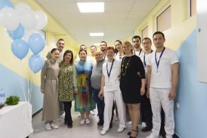 """Модерен възстановителен център """"Медика Експерт"""" отвори врати в спортния комплекс """"Ялта""""."""