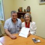 Кристин Дагуел посети отделенията, в които се използва оборудването, което болницата получи